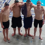 Varsity Boys Swimming Competes In Sectional