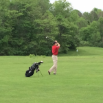 Ben Szeszycki Leads Golf To Win vs Lawrence North
