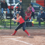 Abby Downard Leads Off and Leads Way vs Triton Central