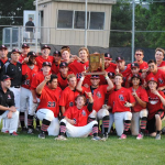 Varsity Baseball Wins Sectional Championship
