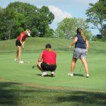 Girls Golf at Winding River