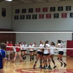 Raider Volleyball Tames Bulldogs