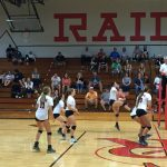 Volleyball Blazes To Another Win