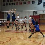 Lady Raiders Volleyball Soars Past Eagles