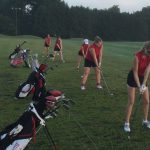 Girls Golf At City Championship