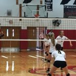 Girls Volleyball Tames Panthers