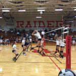 Raiders Volleyball Takes The Spark Out Of Speedway