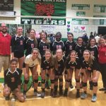 Volleyball Earns Their Stripes Against Tigers, Win ICC