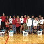 Volleyball Senior Night Win, Record Broken