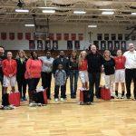 Lady Raiders Win On Senior Night