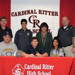 Trevor Browder Signs With Marian
