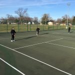 Girls Tennis Takes On Perry Meridian