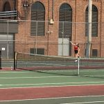 Tennis Sweeps Arsenal Technical High School