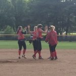 Softball Plays Well But Suffers Loss To Scecina