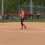 Softball Splits In Chatard Tourney