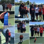 Girls Tennis Competes In ICC Tourney