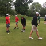 Golfers Take 2nd In ICC