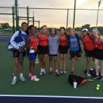 Tennis Wins First Round Of Sectionals Against Rivals