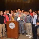 Baseball Team Honored At City-County Council Meeting