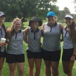 Girls Golf At Roncalli Invitational