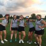 Girls Golf In Match Play Against Chatard