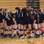 Volleyball Teams Take On Heritage Christian