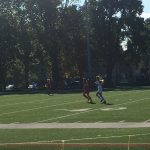 Girls Soccer Plays At Home