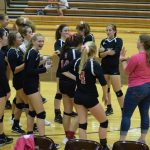 Volleyball Wins First Game Of City Tourney