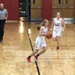 Girls Basketball Hits Throttle Against Spark Plugs