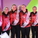 Girls Bowlers Take On Giants