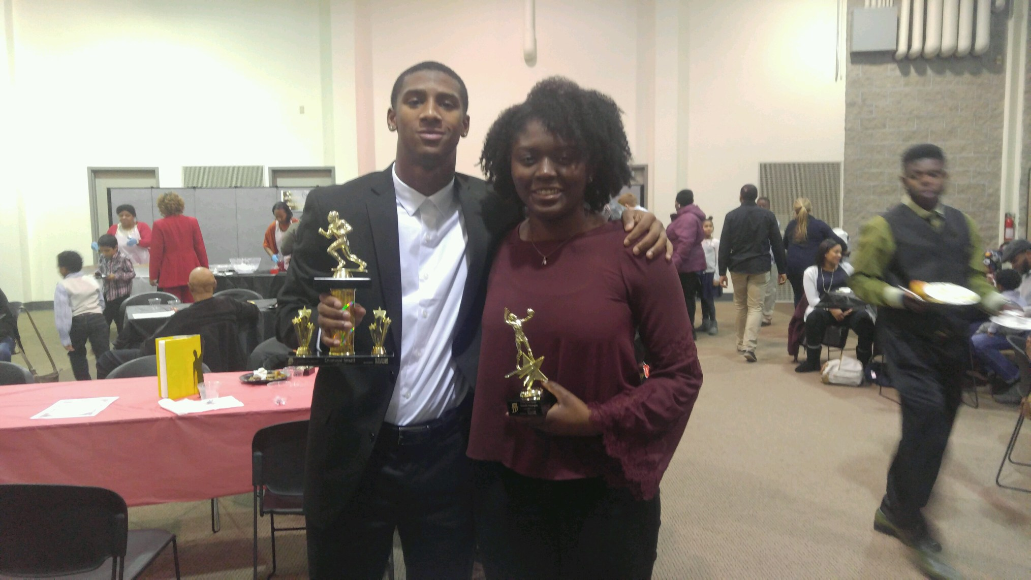 Metangmo And Small Honored By IBE