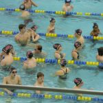 Swimming And Diving Teams Continue To Win; Viglietta Sets 2 New School Records