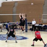 Raiders Volleyball Sweeps Royals