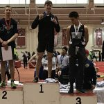 Track Competes In Indoor State Finals