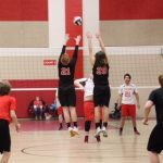 Volleyball Falls In First Game Back From Break