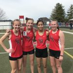 Track Competes In Tri-Meet