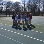 Girls Tennis Beats Scecina 4-1