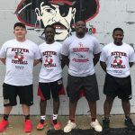 Football Weight Lifters Of The Month