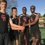 Track Team Takes 3rd In City; Grays Breaks Long Jump Record