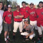 Baseball Wins On Senior Night