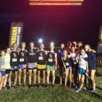 XC Runs In Lavern Under The Lights