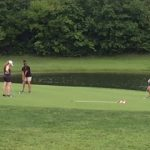 Girls Golf Competes At Dakota Landing