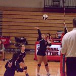 Raiders Volleyball In Action