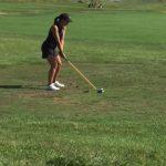 Girls Golfers Play Eagle Creek