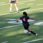 Girls Soccer Competes Against CC