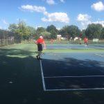 Raiders Tennis Top Scecina 3-2