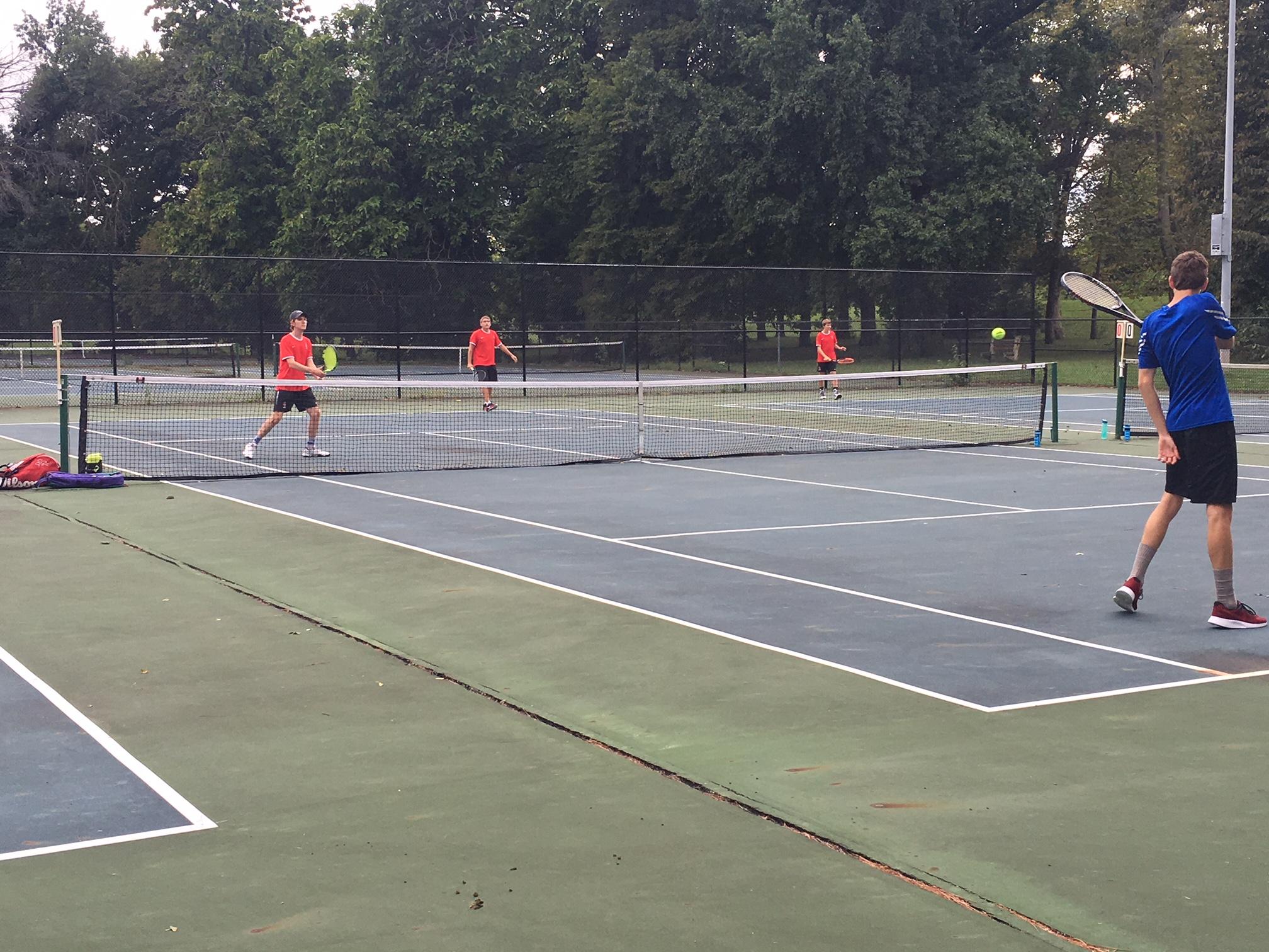 Boys Tennis Beat Attucks