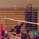 Volleyball Plays At Park Tudor