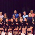 Volleyball Senior Night; Win First Round Of City
