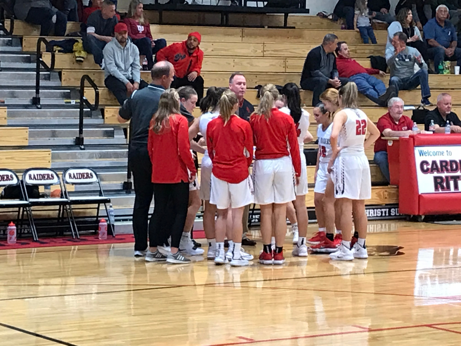 Lady Raiders BBall Stays Undefeated In ICC